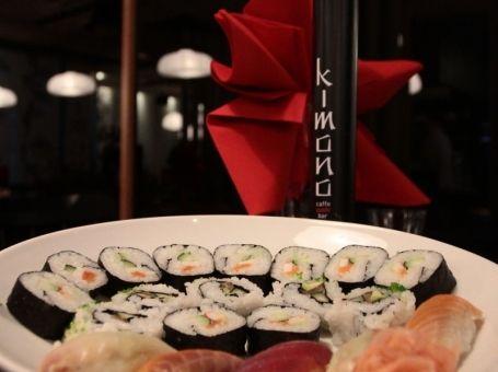 Kimono cafe-sushi bar opening