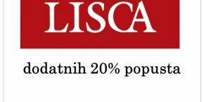 Lisca: Discount up to 20%