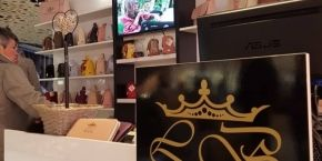 Visit Lovely bags on the second floor