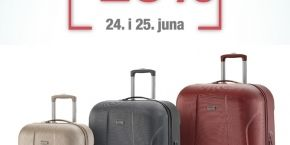 Stylos: 20% discount on the Travelite Elbe Two collection!
