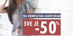 Legend WW: 50% discount on the full range
