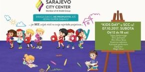 Kids day in Sarajevo City Center