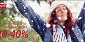 Winter Discounts in Levi's!