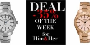 Oxette: Deal of the Week -35% For Her and Him!