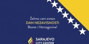 Sretan Dan nezavisnosti Bosne i Hercegovine!