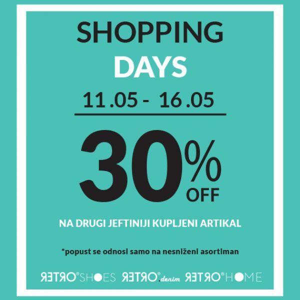 RETRO Shopping Days