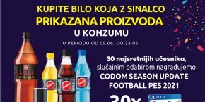 Konzum and Sinalco AWARDS YOU!